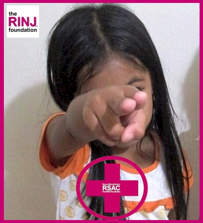 The RINJ Foundation teaching women and children to fight off gropers.